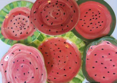 arbuz na ceramice