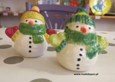 bałwanki ceramiczne
