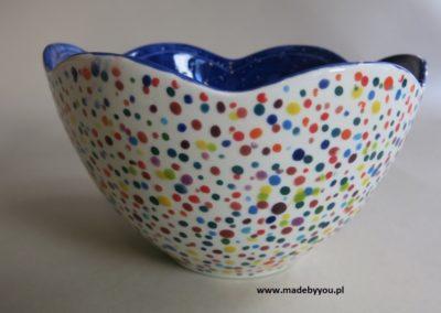 ceramika w kropki