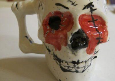 czaszka ceramiczna