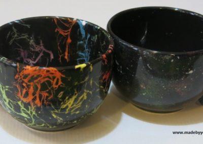 kubek ręcznie malowany
