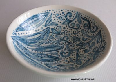 miska ręcznie malowana