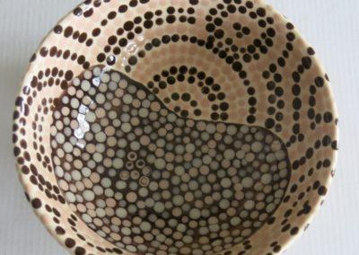 miska we wzory aborygeńskie