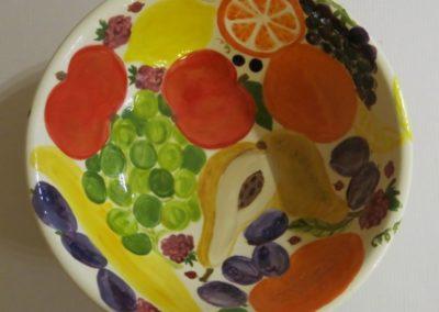 owoce ceramiczne