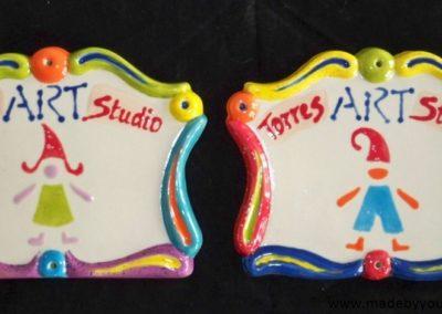 plakietki ceramiczne