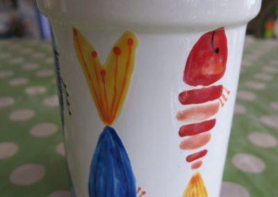 ryby na ceramice