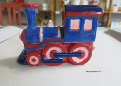 skarbonka pociąg