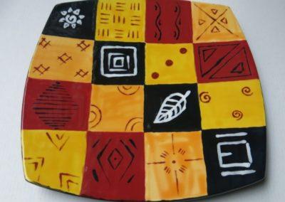 talerz kwadratowy