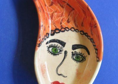 twarz ceramiczna