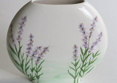 wazon ręcznie malowany