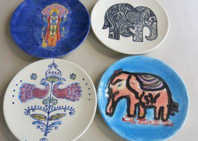 wzory hinduskie